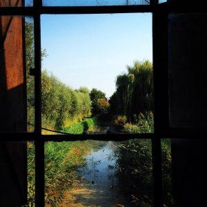 Drehtag in PotsdamGrube bei 30 Grad Blick aus dem denkmalgeschtztenhellip